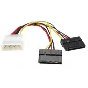Cable De Corriente Interno Hdd Sata 150 Manhattan Doble