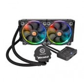 CL-W107-PL12SW-A Thermaltake Water 3.0 Riing RGB 240 Enfriamiento Líquido para CPU, 120mm, 800-1500RPM