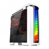Gabinete Gamer Thermaltake Versa C22 RGB Snow Edition, Midi-Tower, ATX/micro-ATX/mini-iTX, USB 2.0/3.0, Blanco CA-1G9-00M6WN-00