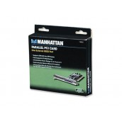 Tarjeta Paralela 158220 Pci Manhattan (Bracket Corto Y Normal)