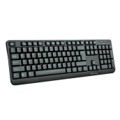 TECLADO  KB-102 MULTIMEDIA USB NEGRO