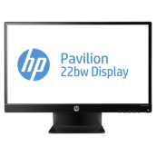 "HP 22bw 21.5"" LED LCD Monitor - 16:9 - 7 ms C4D29AA#ABA"