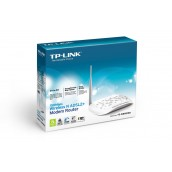 MODEM ROUTER ADSL2+ INALAMBRICO TP-LINK TD-W8951ND N150 4 PTOS LAN