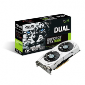 Tarj Video ASU Nvidia GTX1060 6GB DVI HDMI DP PCIe DUAL-GTX1060-O6G