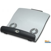 Base Ventilada Manhattan Para Notebook C/Pocisiones+Hub Usb