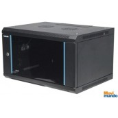 "Gabinete 19"" 15U Intellinet Para Montaje En Pared, Metal Negro"