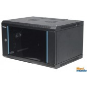 Gabinete 19 12U Intellinet Para Montaje En Pared, Metal Negro