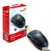 Mouse Optico Inalambrico Genius Ns-6000,2.4Ghz Compatible C/Mac Usb Negro