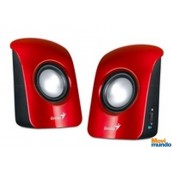 Genius Bocinas Sp-U115 1.5 Watts Usb Rojas