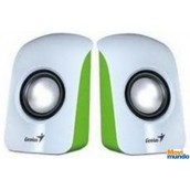 Genius Bocinas Sp-U115 1.5 Watts Usb Verde/Blanco