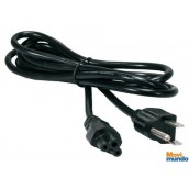 Cable De Corriente Manhattan Para Laptop (Triple)