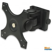 Brazo Plano Porta Monitor Manhattan Para Pared Negro