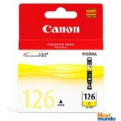 Cartucho Canon Cli-126 Amarillo P/Ip4810,Mg5210,Mg6110