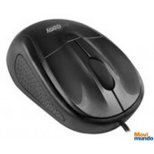 Mouse Optico Alambrico Easy Line Negro Usb Compatible Con Windows Xp,Vista,7/Mac Os
