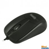 Mouse Optico Alambrico Easy Line Negro Usb Compatible Con Windows Xp/Vista/Mac Os