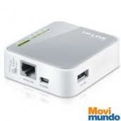 Router Tp-Link Inalambrico 3G/4G N 150Mbps Portatil 1 Puerto Wan 10/100 1 Puerto Usb 2.0