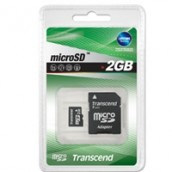 Memoria Card Micro-Secure Digital 2 Gb Transcend