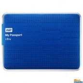 Disco Duro Externo WD My Passport Ultra Capacidad 1 TB Portatil Azul  / Usb 3.0  / Windows / Mac / Copia De Seguridad Automatica