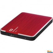 Disco Duro Externo WD My Passport Ultra Capacidad 1 TB  Portatil / Usb 3.0 / Windows  / Mac / Copia De Seguridad Automatica / Rojo
