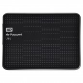 Disco Duro Externo 1 Tb Wd My Passport Ultra Portatil Negro 2.5 Usb 3.0 Win / Mac / Copia De Segurada Automatica