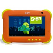 Tablet Ghia Any Kids 7 / RAM 512 MB / Almacenamiento 8GB / Wifi / Android 4.2 / 27158N / Naranja.