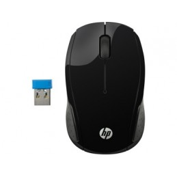 Mouse HP X6W31AAABL - Negro