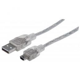 CABLE USB V2.0 MANHATTAN...