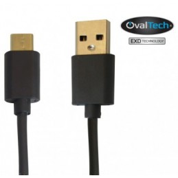 Cable USB Tipo C - 2 mts...